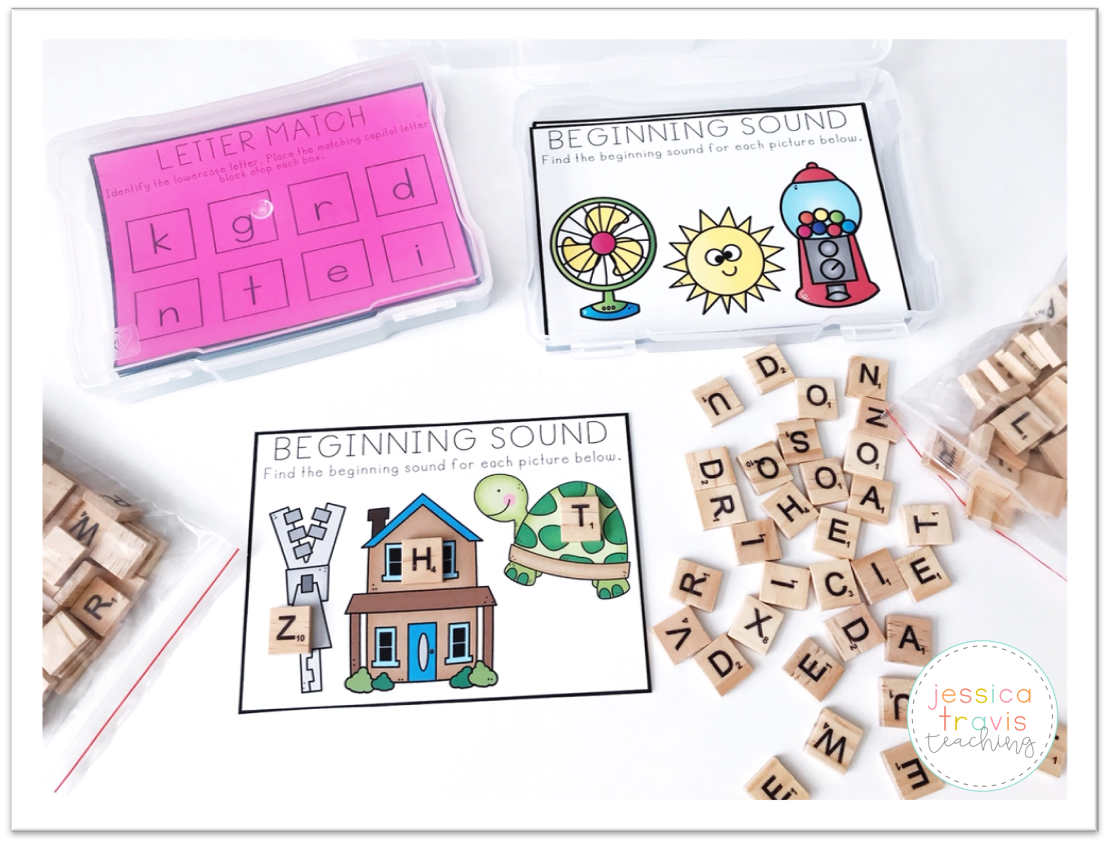 Alphabet Task Cards Free And Fun